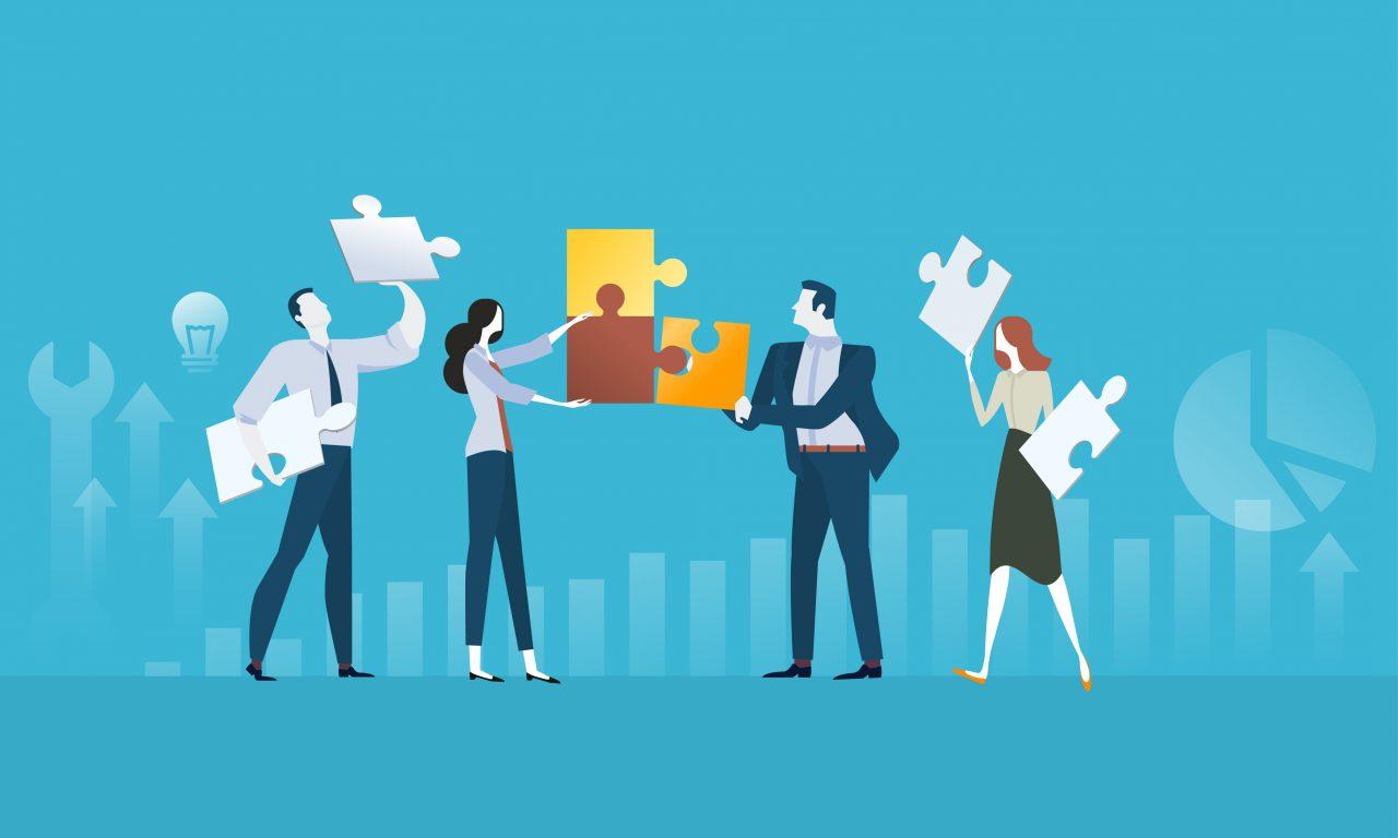 Verschiedene Plattformen greifen beim Content Marketing ineinander