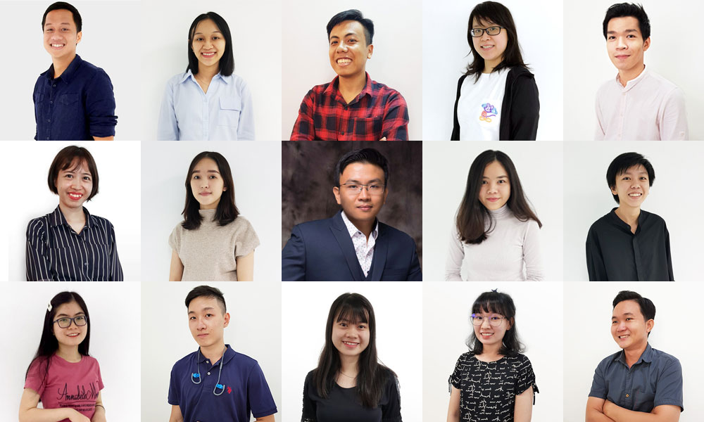 The VBAse Team in Singapore and Vietnam